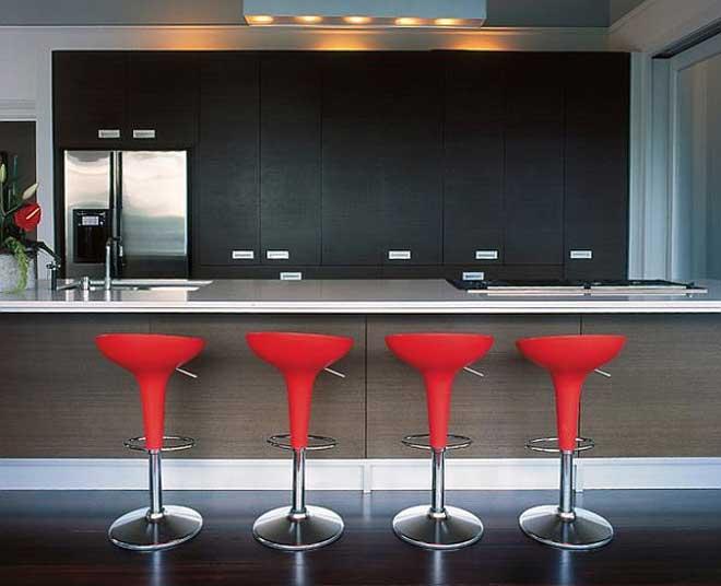 Red Kitchen Bar Chairs